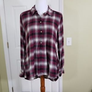 American Eagle Outfitters plaid top